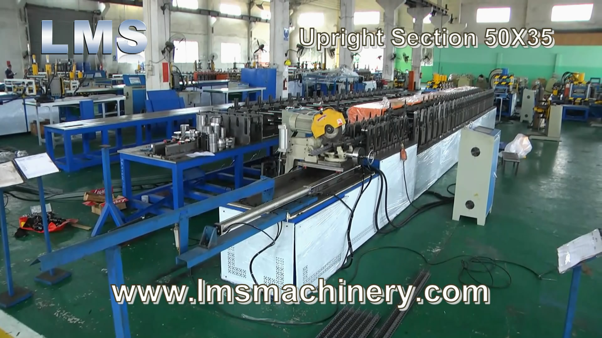 LMS Upright Section 50X35 Roll Forming Production Line