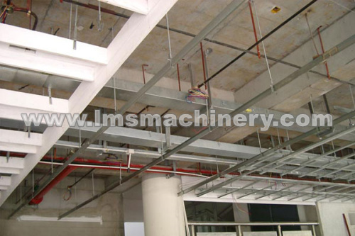 roof manufactured by roll forming machines