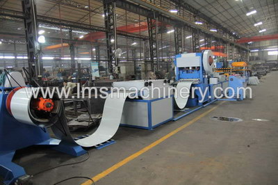 LMS Ceiling Tile 600x600 Auto Perforation Line with Manual Forming