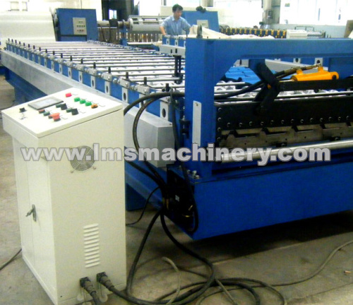 T Shape Corrugated Roof Panel Roll Forming Machine-1